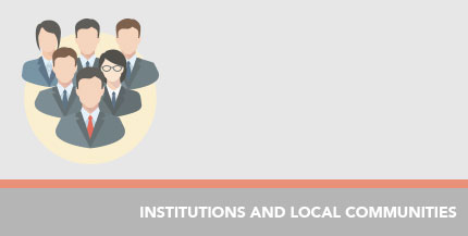 Institutions and local communities